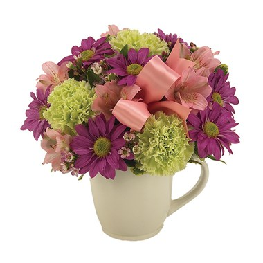 """My Cup Runneth Over"" flowers (BF145-11)"